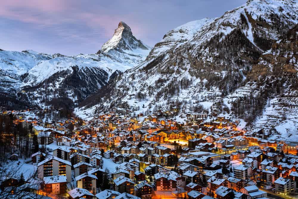 Vremea în Zermatt, Cantonul Valais, Elveția